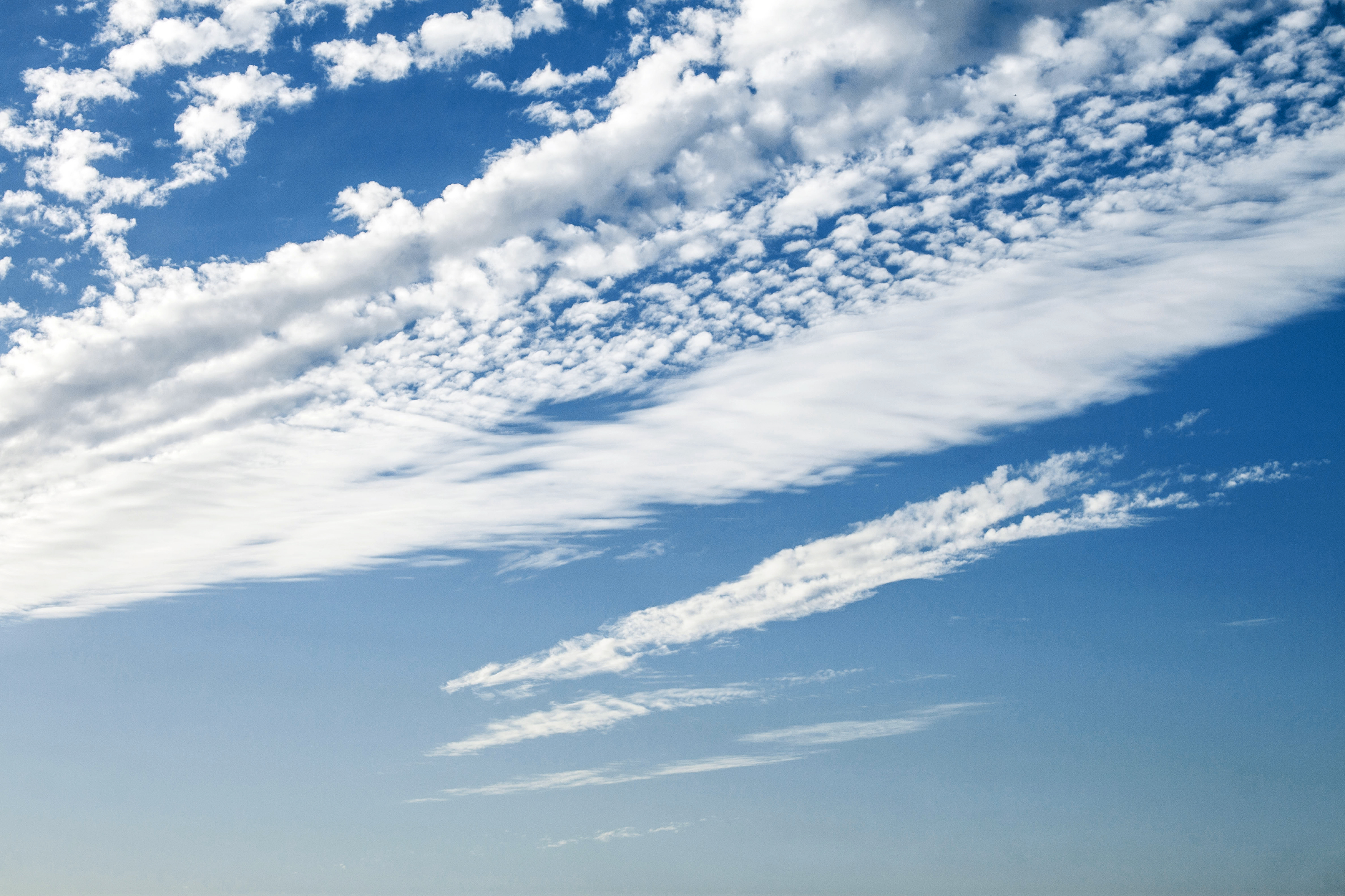 Aerial View Of Cloudscape Free Stock