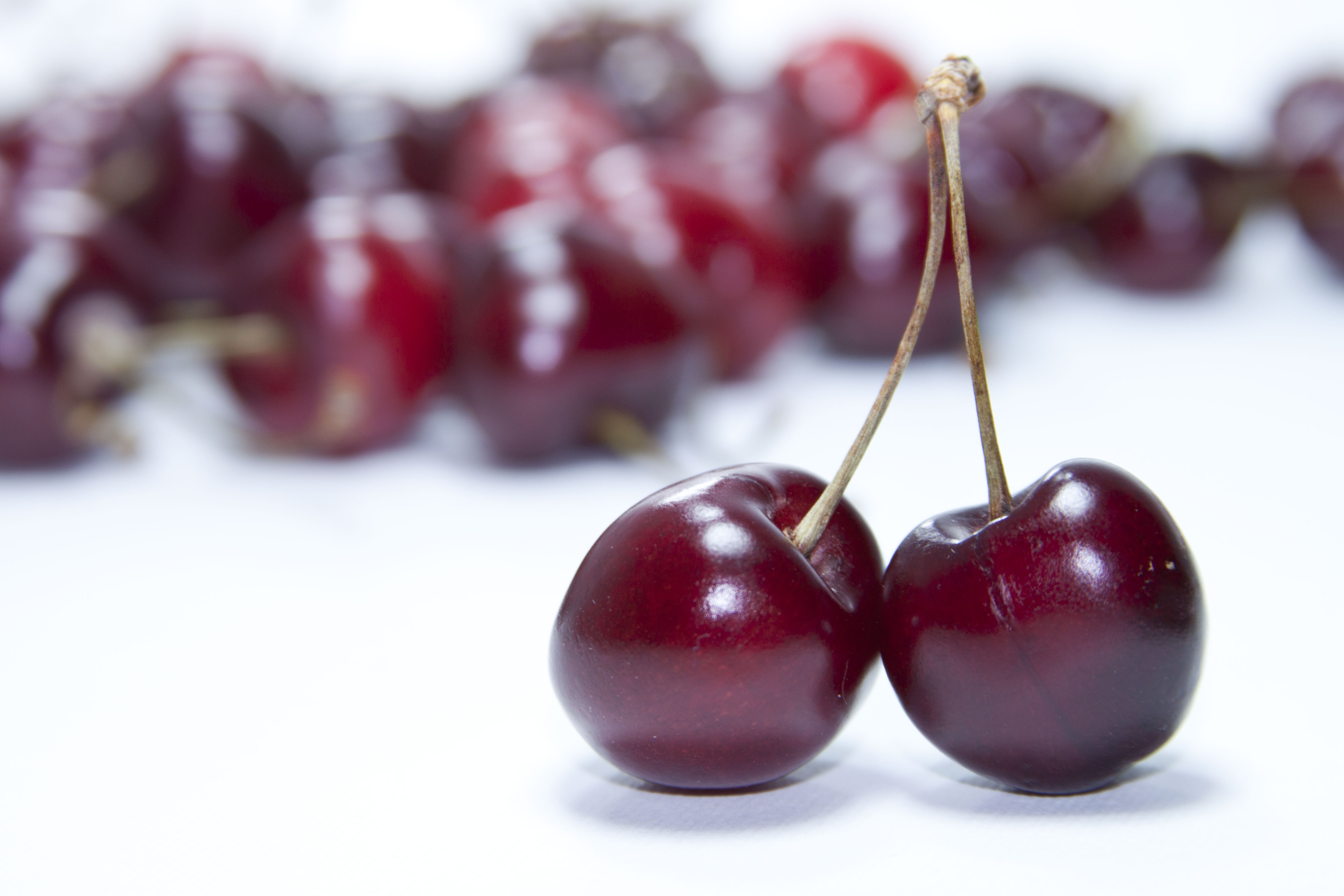 Red Cherry Fruit Free Stock Photo