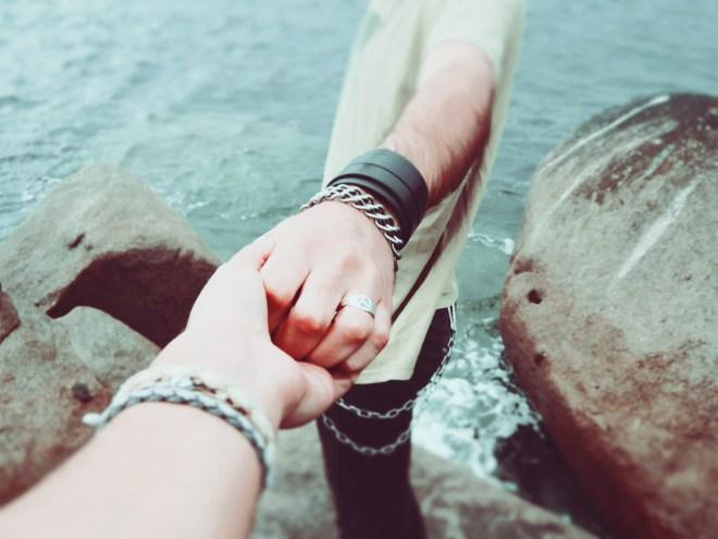 couple, friendship, hands
