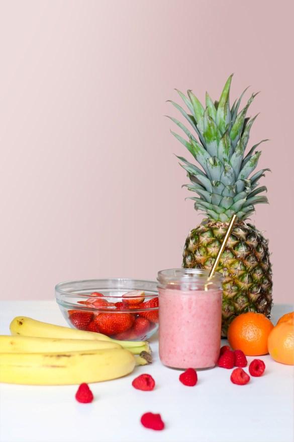 aliments, ananas, baie