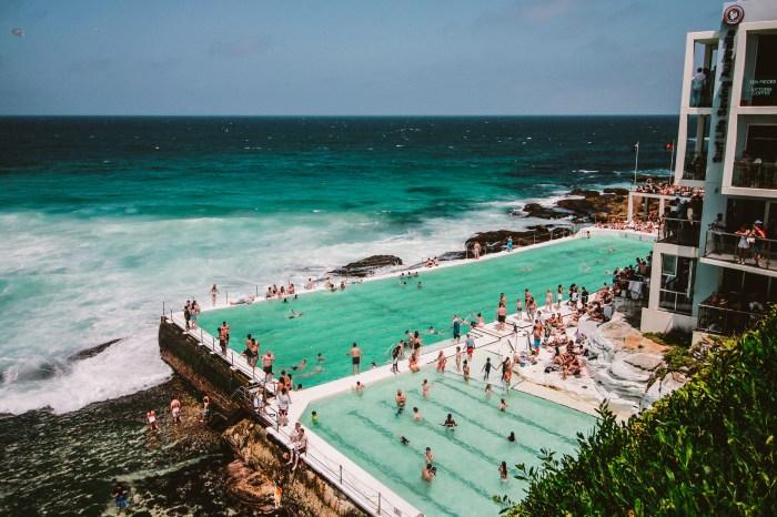 People Gathering Near Swimming Pool