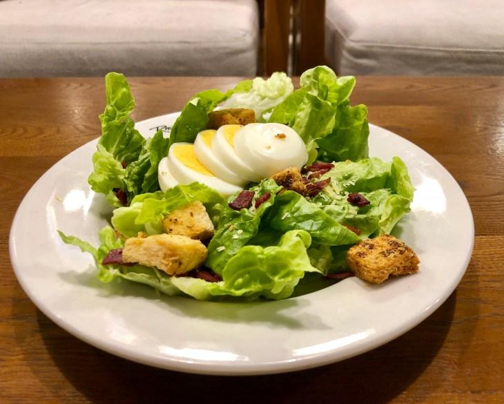 Caesar salad, eating healthy, food