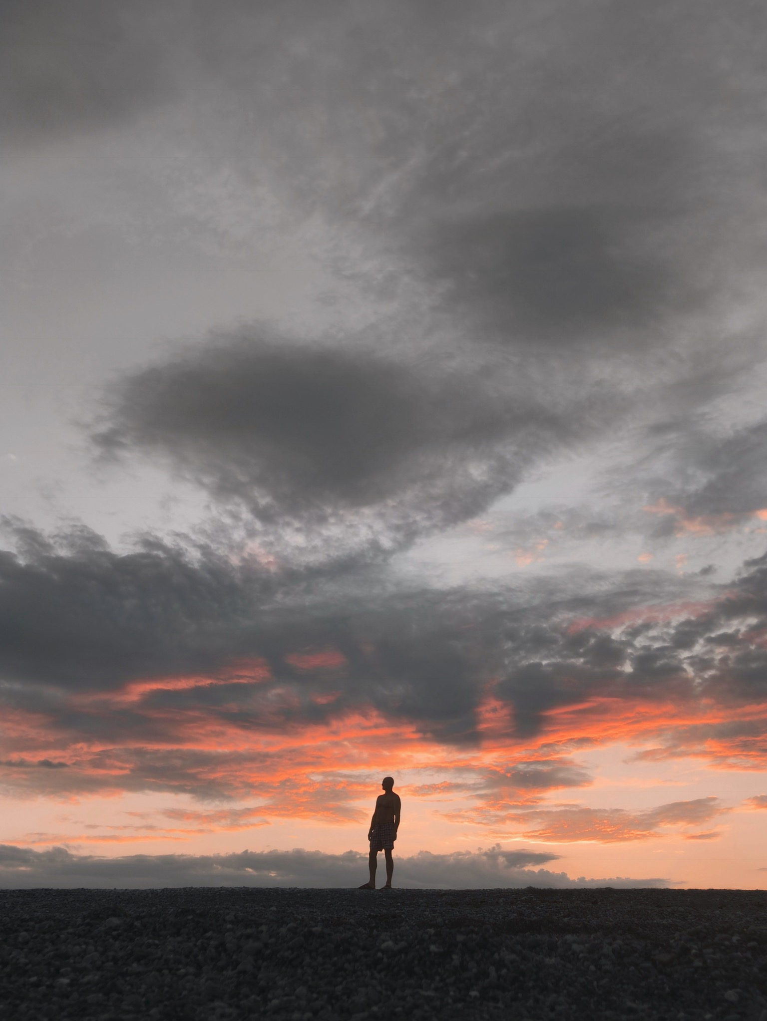 Black Iphone X Wallpaper White Clouds And Blue Sky During Golden Hour 183 Free Stock
