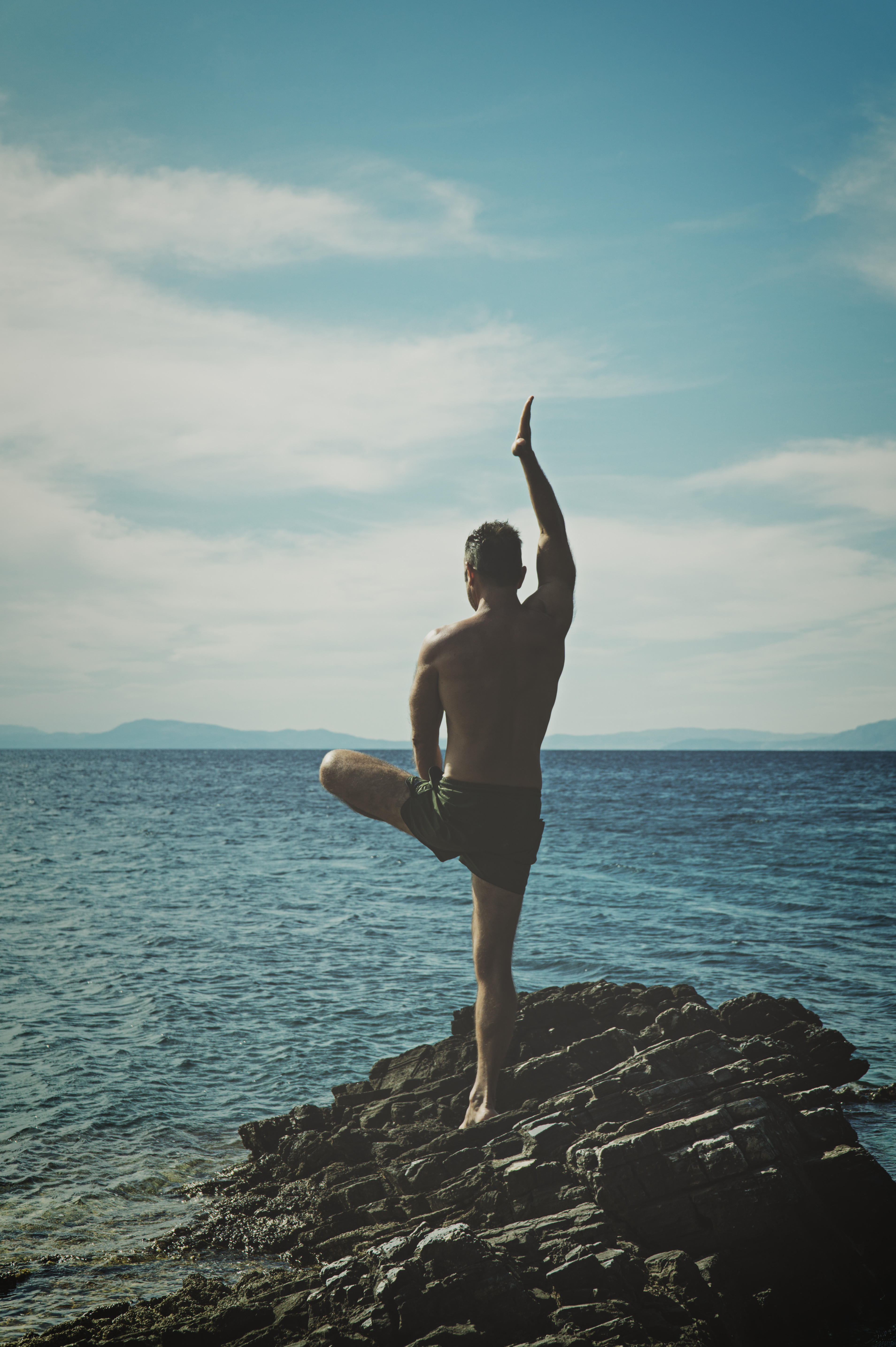 Wallpaper Iphone 4s Size Woman Doing Yoga 183 Free Stock Photo