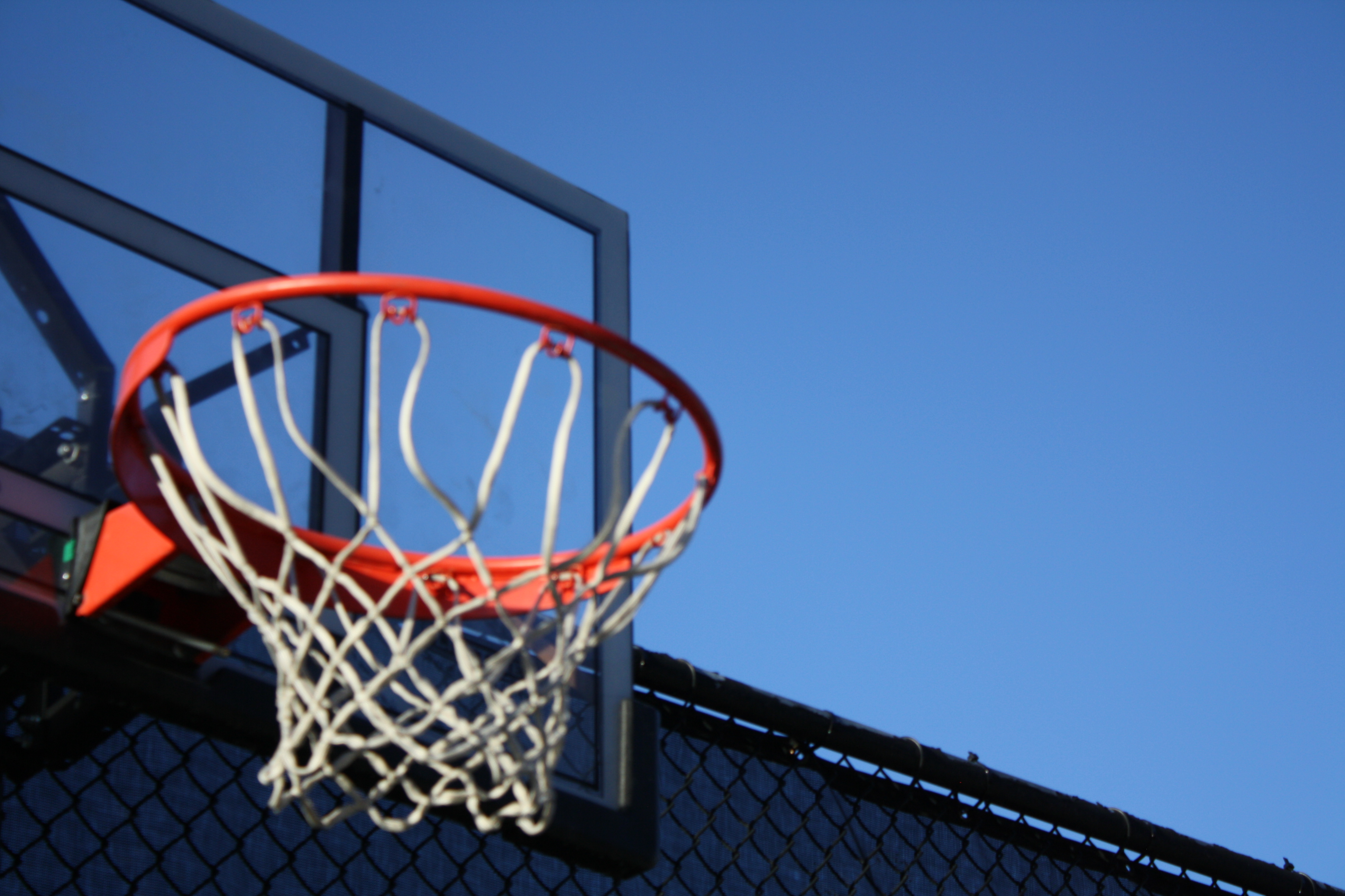 Blue And Brown Basketball Hoop 183 Free Stock Photo