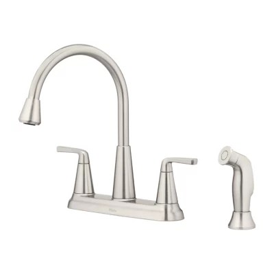 two handle kitchen faucets double