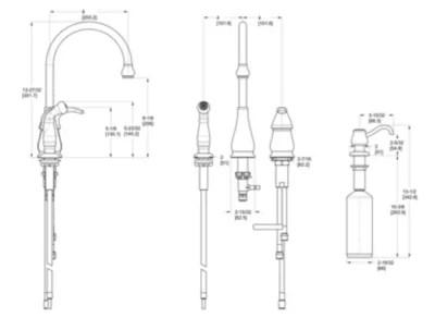 handle kitchen faucet pfister faucets