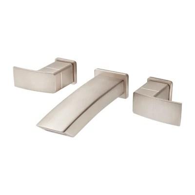 kenzo lg49 df3k 2 handle wall mount bathroom faucet