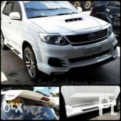 Toyota Yaris Trd Sportivo Olx Harga All New Kijang Innova 2016 Fortuner Drl Body Kit Chin Skirts Spoiler Grill For