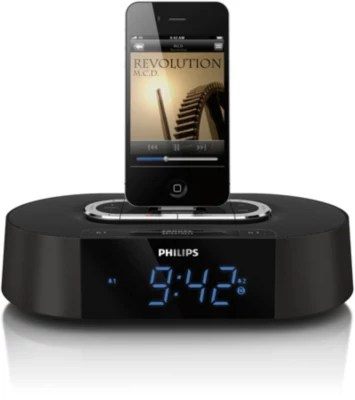 Alarm Clock Radio Ipod Iphone Aj7030dg 37 Philips