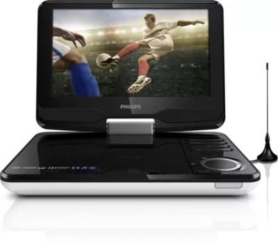 televiseur et lecteur de dvd portable
