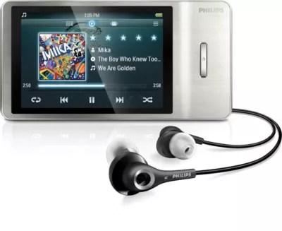 MP4 Player SA2MUS08S02 Philips