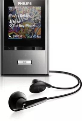 MP3 video player SA2VBE08K17 Philips