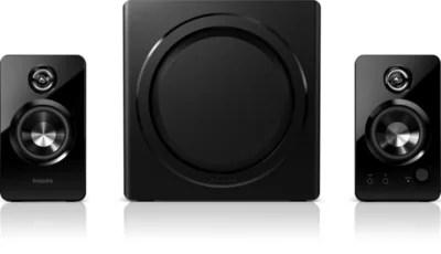 多媒體喇叭 2.1 SPA7355/12 | Philips