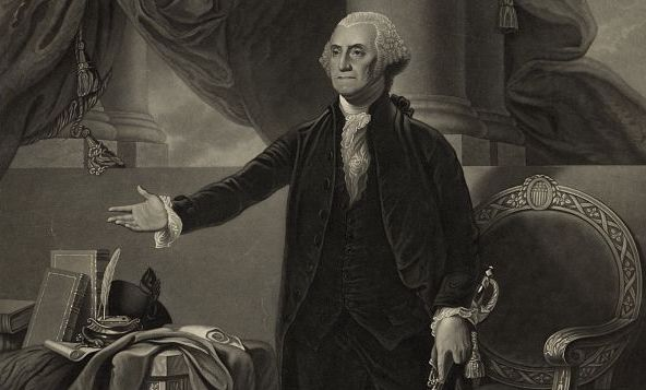 George Washington As Captured By Gilbert Stuart Library Of Congress
