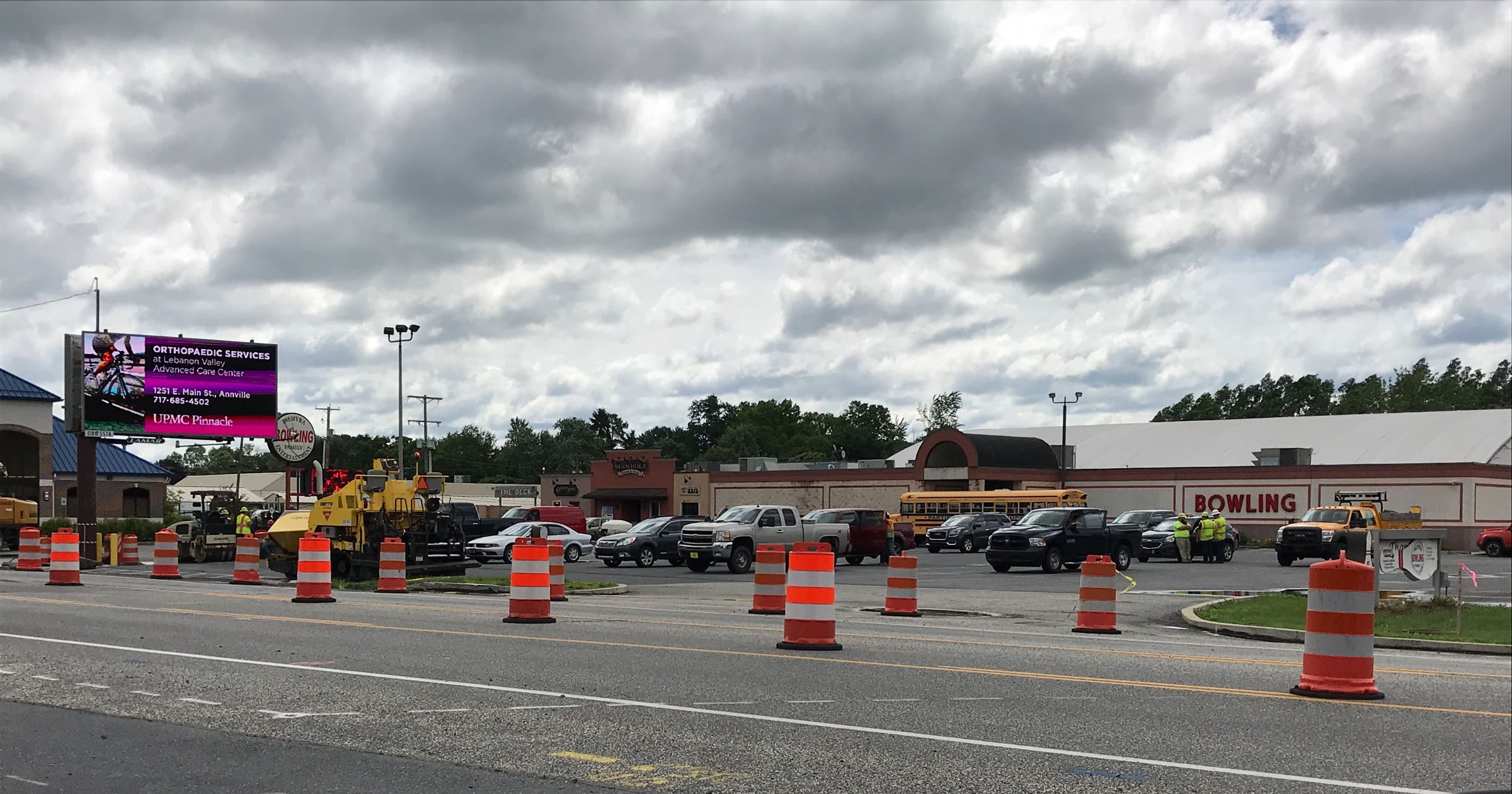 Route 422 will close to through traffic in July for Palmyra sinkhole repairs