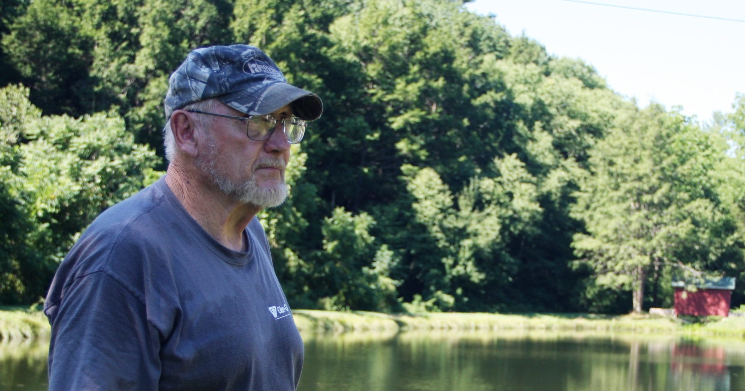 Conservationist Larry Herr loves his land