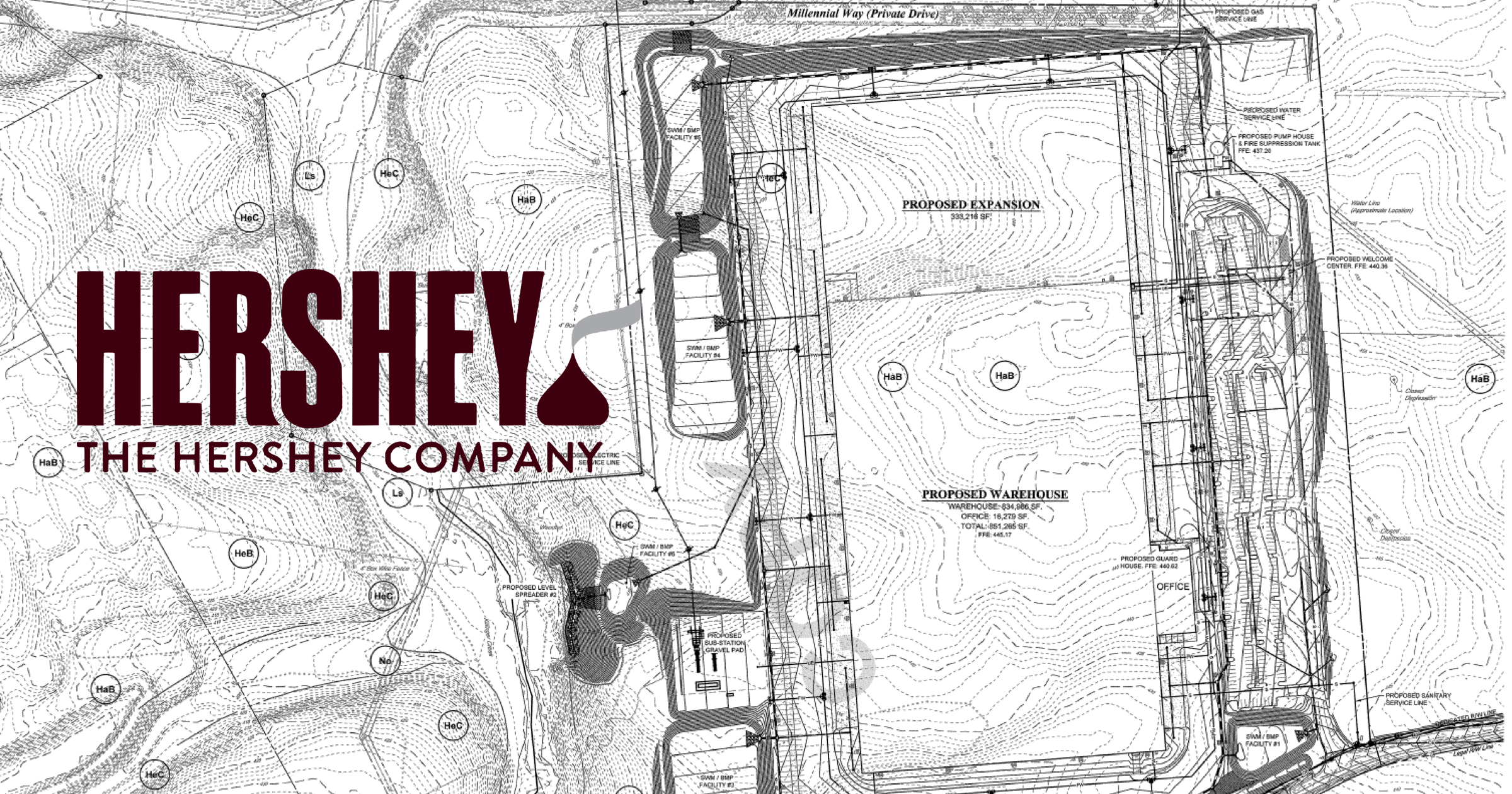 Hershey Co. plans million square foot South Annville Township warehouse