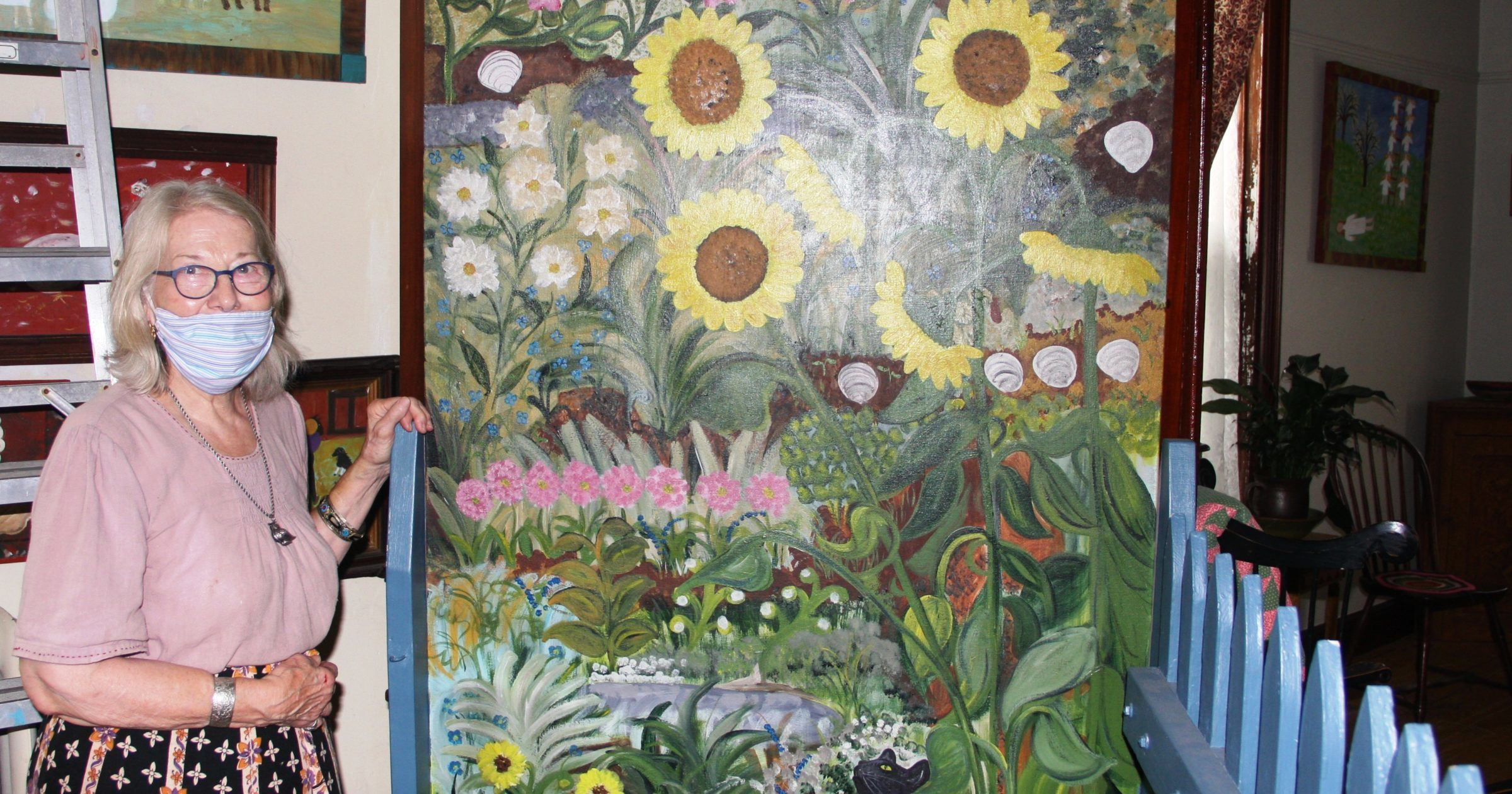 How Schaefferstown folk artist Barbara Strawser sees (and paints) the world