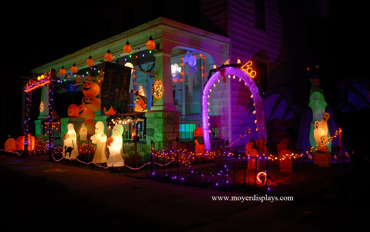 Trick-or-Treat? Moyer Halloween Display ready to delight young ghouls & goblins