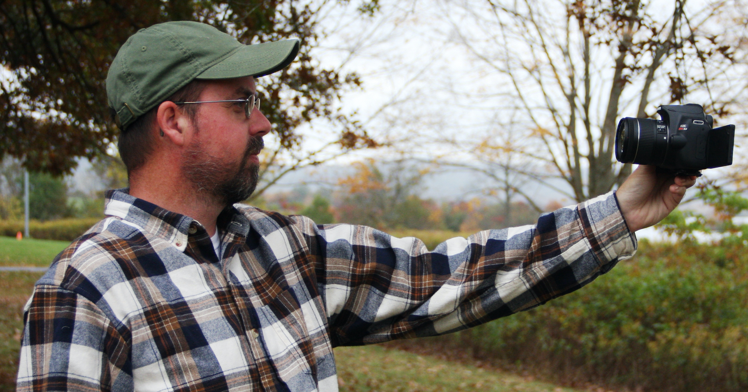 The Wandering Woodsman: Have camera, will travel