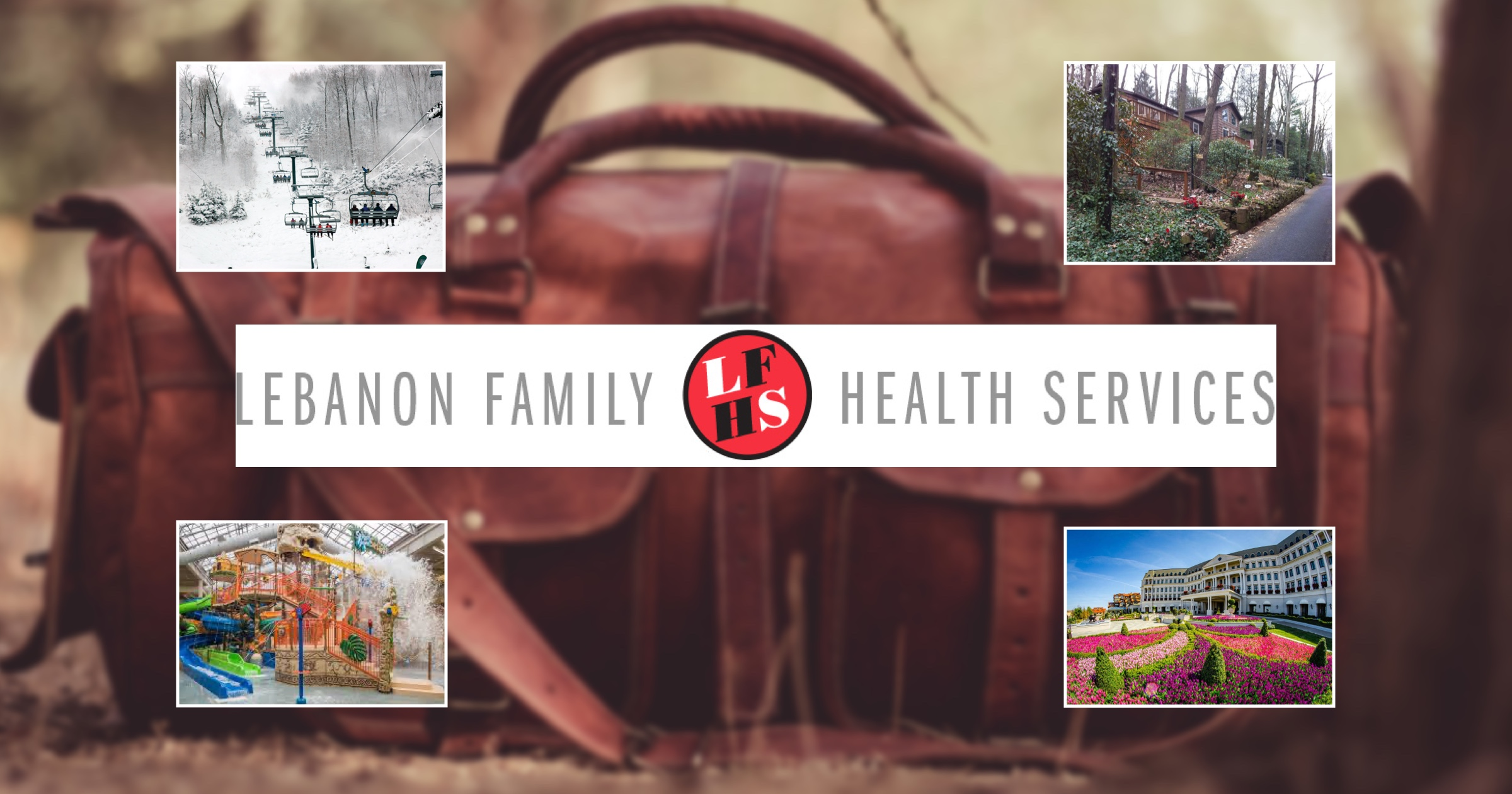 Pack your bags! Lebanon Family Health's 30th annual Travel & Leisure auction is here – and virtual for the first time