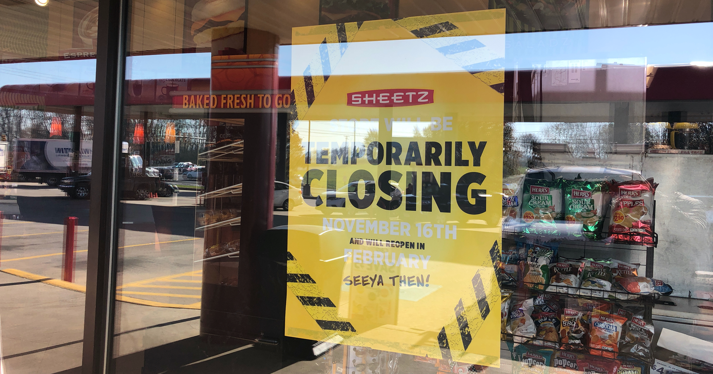 Sheetz in North Cornwall Township closed until February for renovations