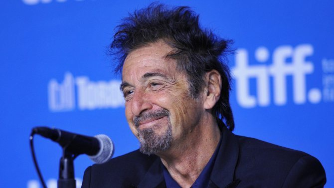 http://variety.com/2014/film/news/al-pacino-on-greta-gerwig-burger-flipping-and-barry-levinsons-the-humbling-1201301383/