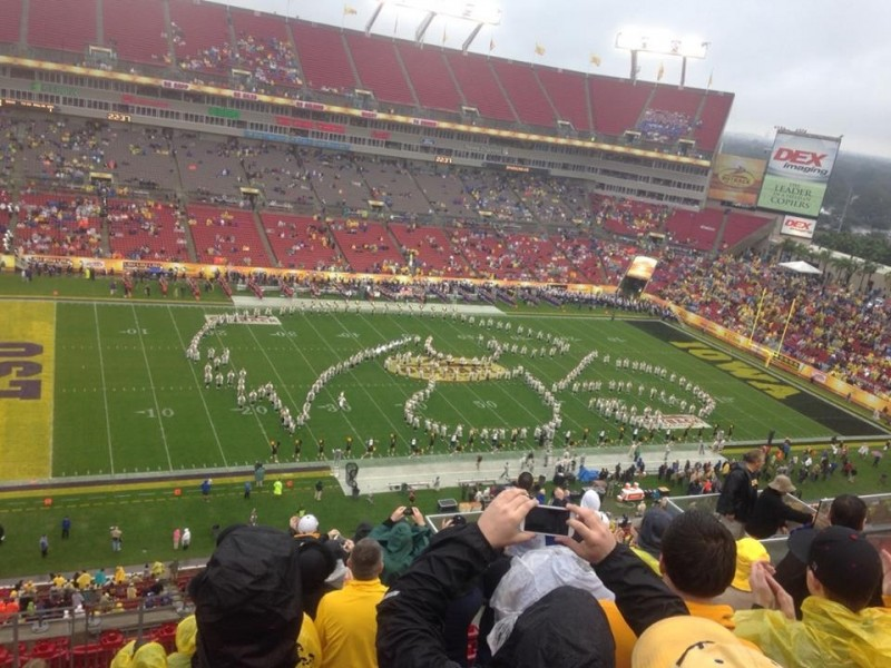 DOTD: Iowa's Band Chants 'We Are Penn State' During ...