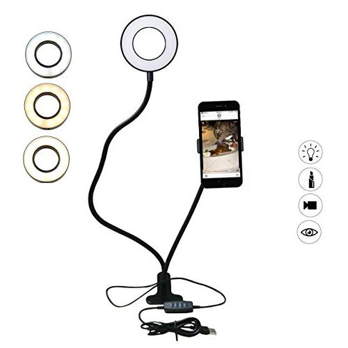 Smarki Cell Phone Holder Mount with 12 LED
