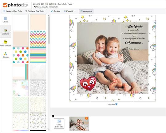 Cuscini personalizzati  Photocityit