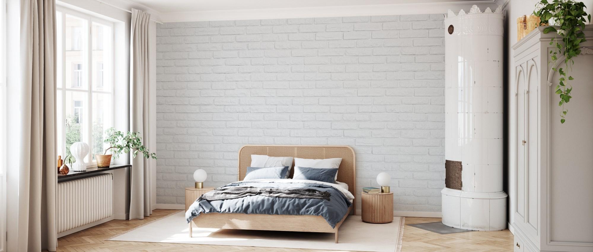 Trova una vasta selezione di carta da parati camera da letto a prezzi vantaggiosi su ebay. White Brick Wall Fotomurale Di Tendenza Photowall