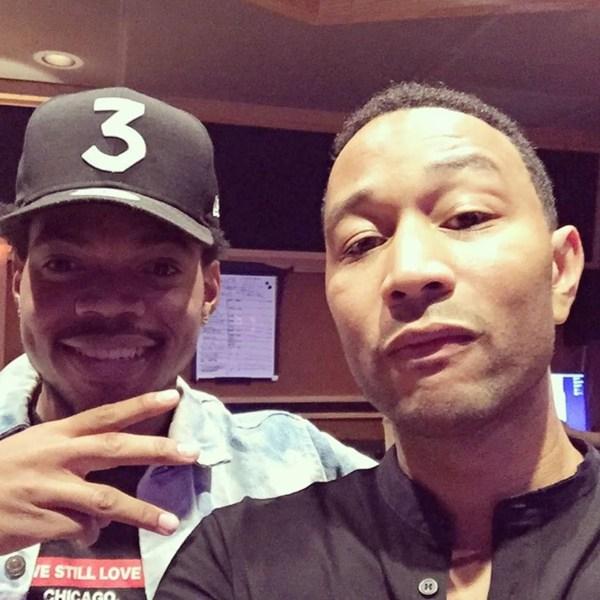 Listen John Legend And Chance Rapper Team
