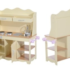 Wooden Play Kitchen Outdoor Cabinets Mh Star