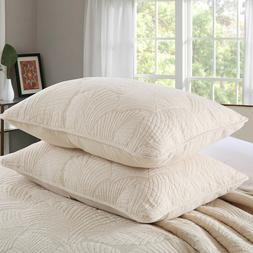 100 cotton quilted pillow