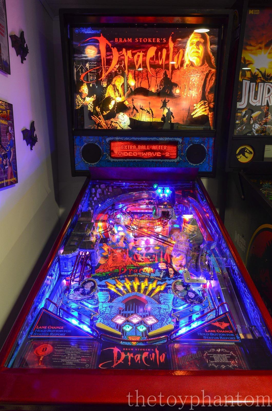 Bram Stokers Dracula Pinball Machine Williams 1993