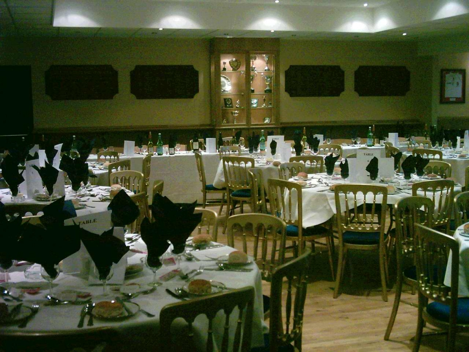 chair cover hire cambridgeshire earl jess design event rugby sporting table set up australian