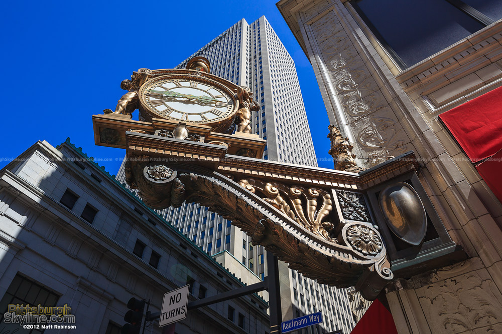 Kaufmann's Clock in Pittsburgh
