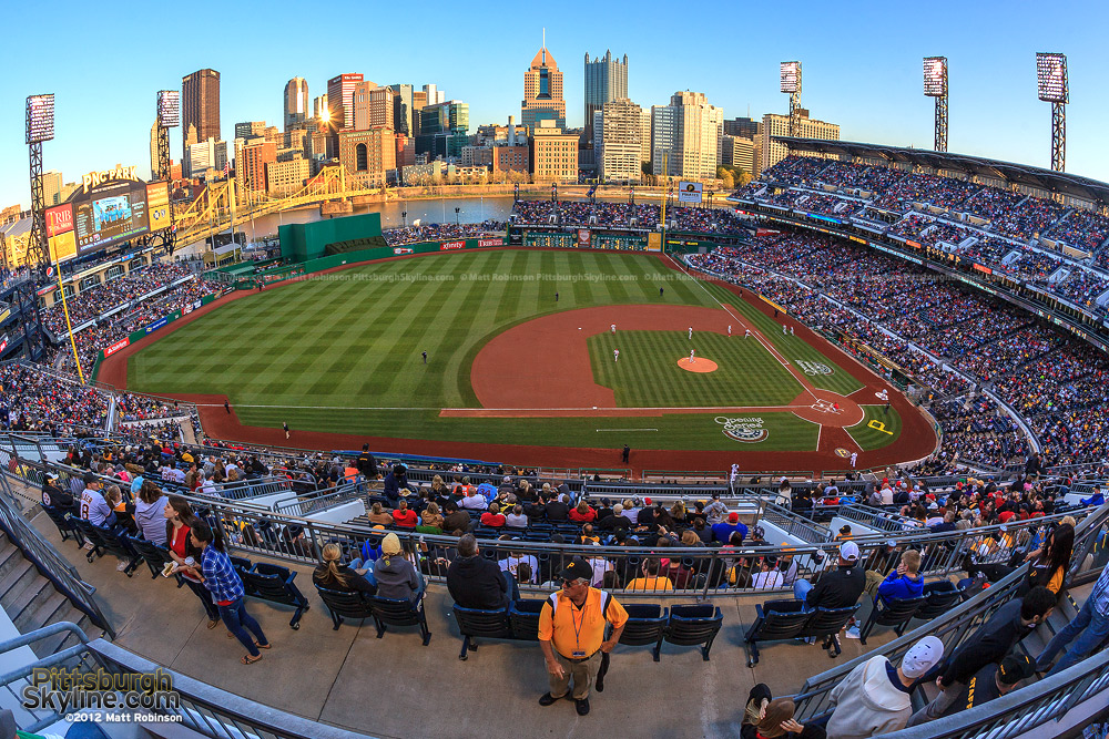 Sellout crowd at PNC Park