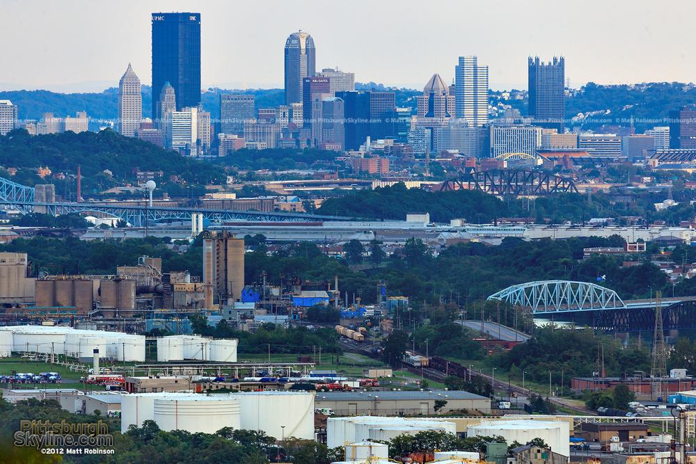 Pittsburgh from a secret spot
