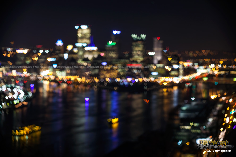 Hearts of Pittsburgh Light Up Night 2012