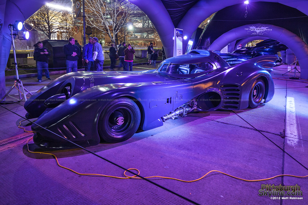 Old Batmobile outside Heinz Field