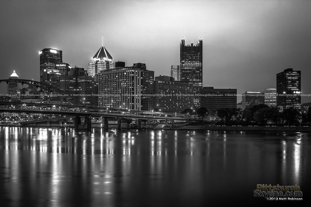 Black and White Pittsburgh from Fred Rodgers