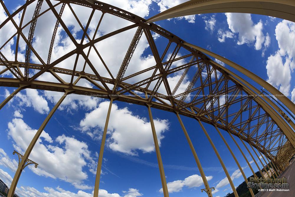 David McCollough Bridge fisheye