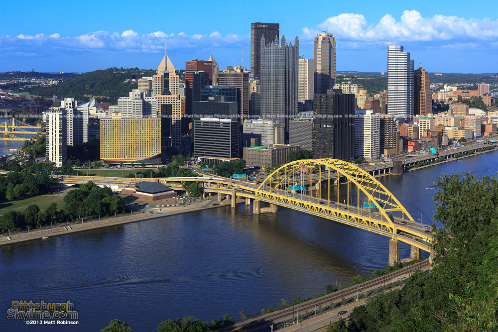 Downtown Pittsburgh July 2013