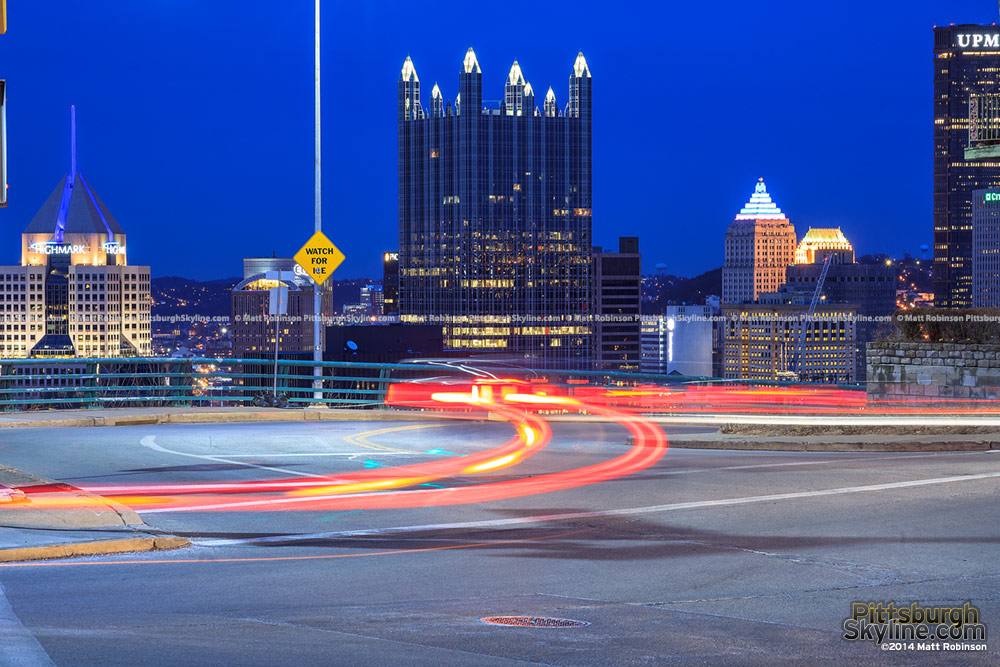 PPG Place and snaking brake lights