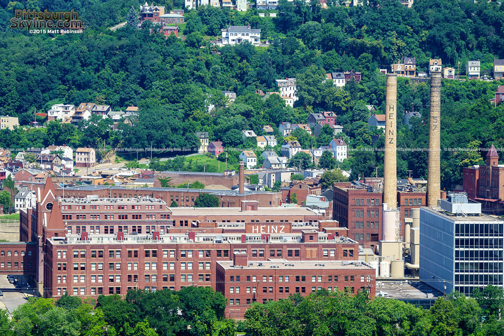 Heinz Lofts from the Hill District
