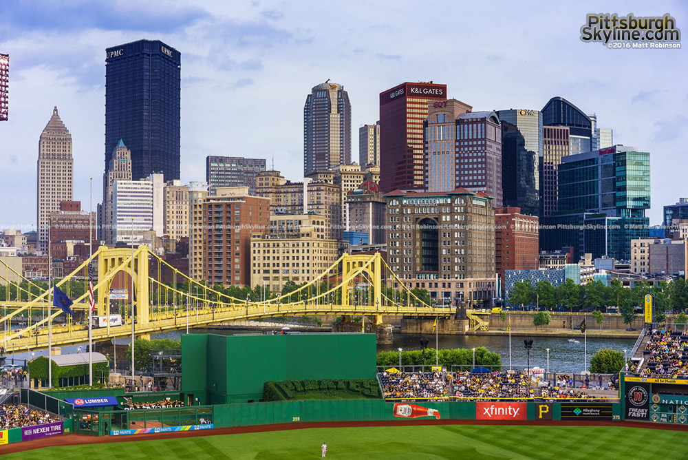 Pittsburgh Skyline from PNC Park 2016