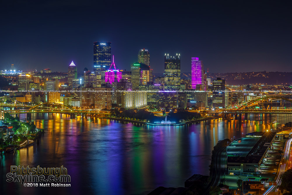 Pittsburgh in Pink for October