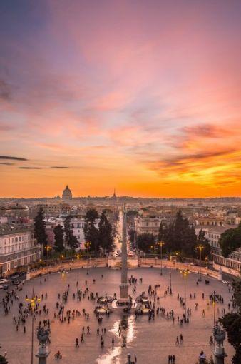 Foto Roma Veduta Pincio a Roma  365x550  Autore Redazione